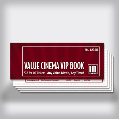 VIP Book - Value Cinemas