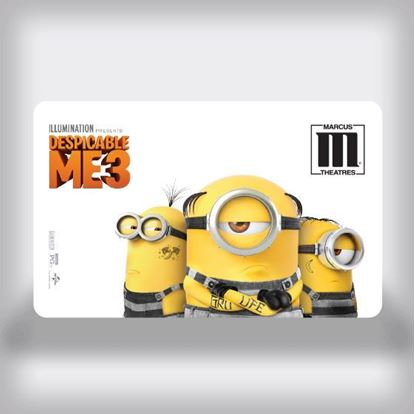 Picture of Entertainment Movie Gift Card - Despicable Me 3 Edition