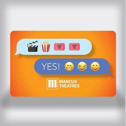 Picture of Entertainment Movie Gift Card - Emoji Edition